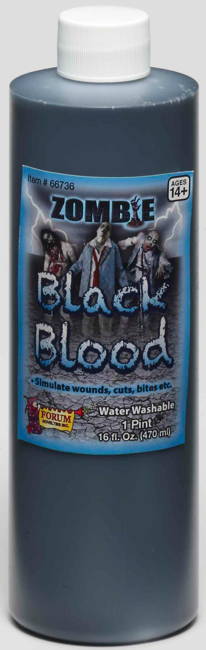 Zombie Black Blood Pint