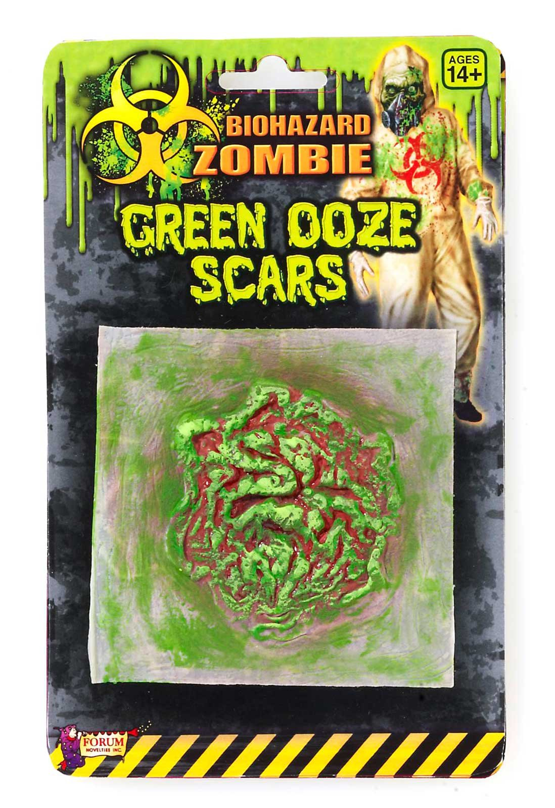 Biohazard Green Ooze Adult Scar