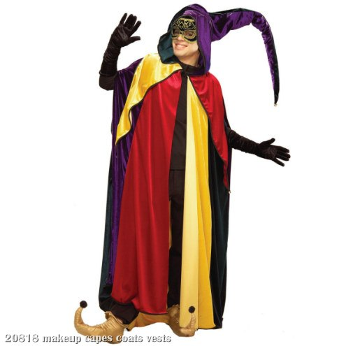 Regal Jester Hooded Cape