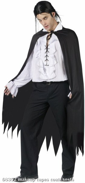 Sawtooth (Black) Adult Cape