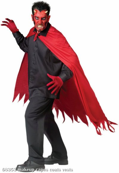 Sawtooth (Red) Adult Cape