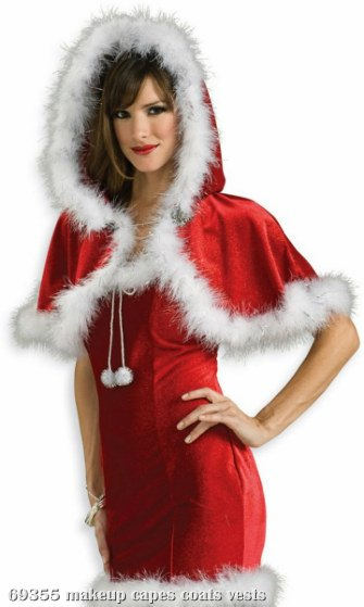 Christmas Capelet (Red) Adult