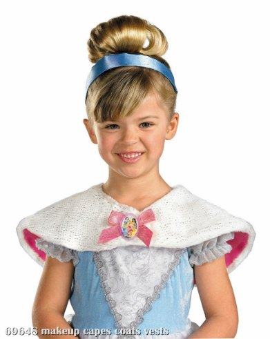 Disney - Multi Princess Capelet Child