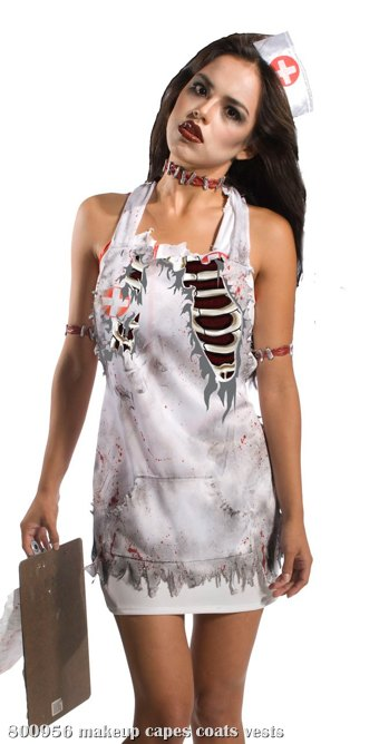 Zombie Nurse Apron (Adult)