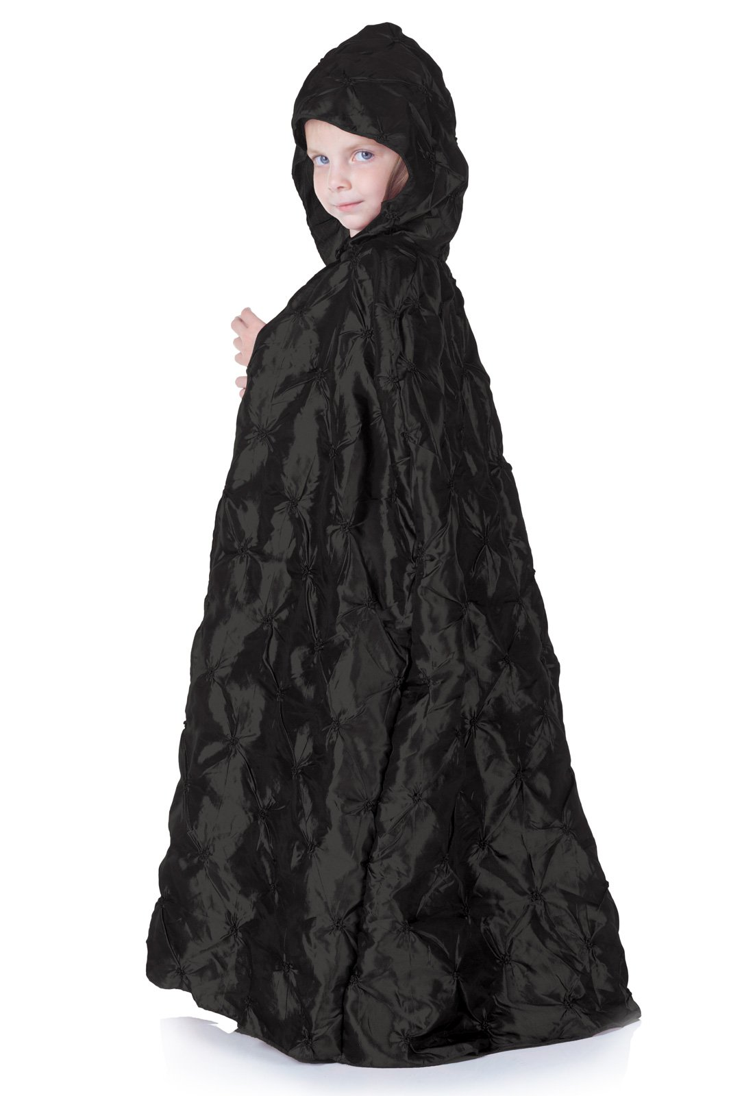 Black Pintuck Cape (Child)