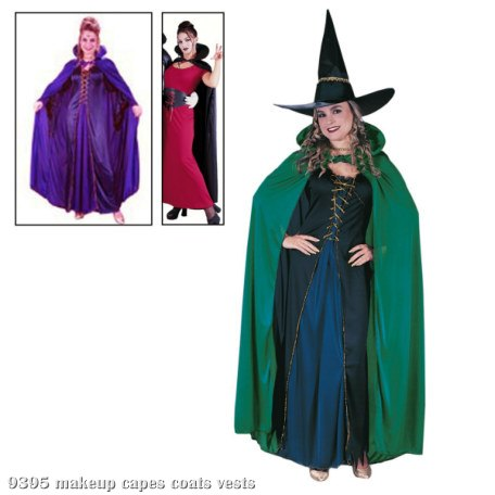 Satin Cape Adult