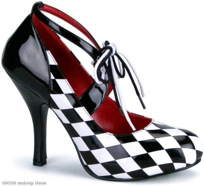 Harlequin Heels Adult - Click Image to Close