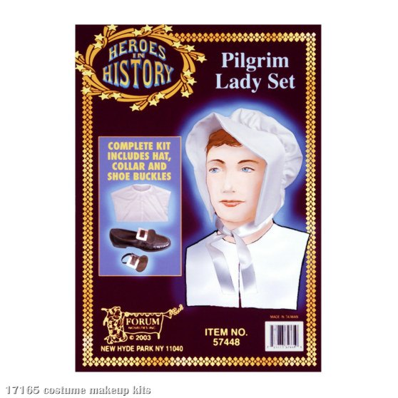 Pilgrim Lady Heroes in History Kit - Click Image to Close