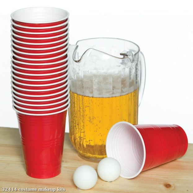 Beer Pong Deluxe Costume Kit