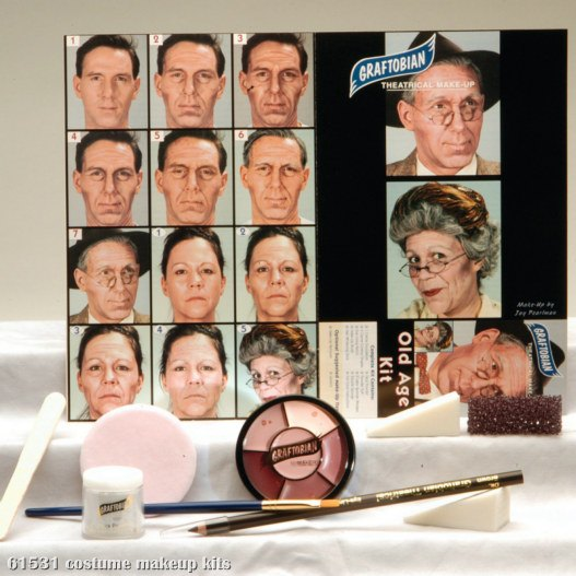 Old Age Makeup Kit
