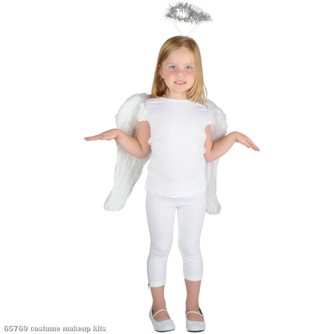 Angel Child Costume Kit