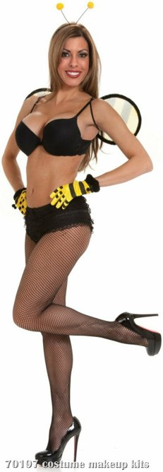 Club Size Bumblebee Wings & Antennae Adult