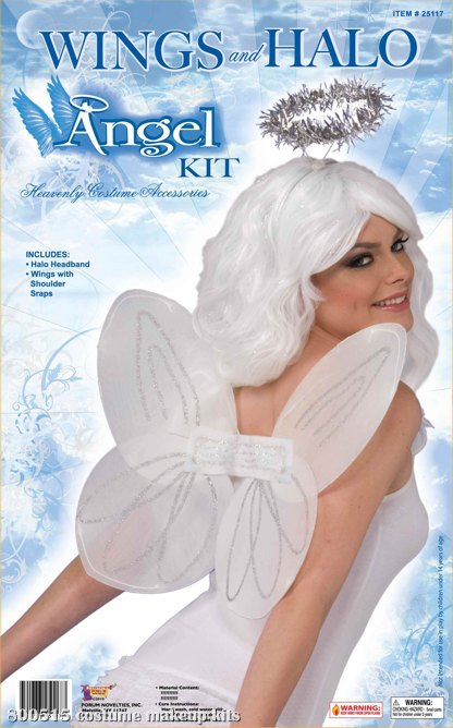 Angel Wings & Halo Kit Adult