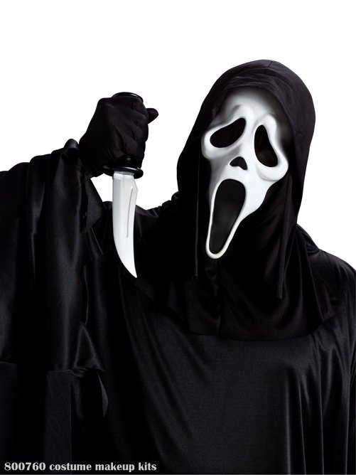 Ghost Face with Knife (Adult)