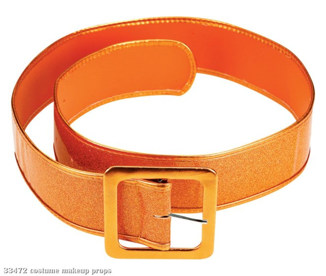 Orange-Mod About You Patent Belt
