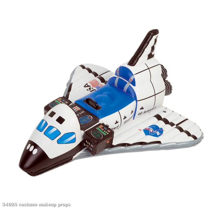 NASA Jr. Space Explorer Inflatable Space Shuttle