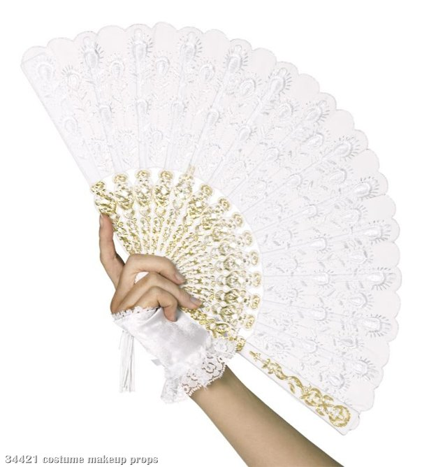 Southern Belle Lace Fan