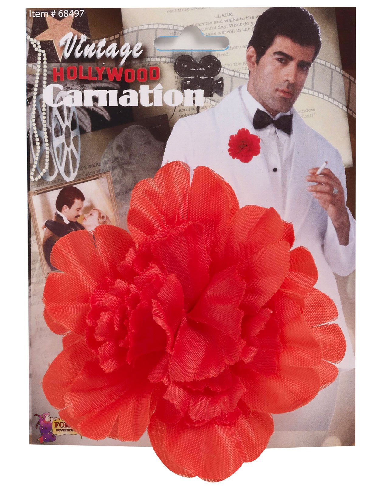 Vintage Hollywood Red Carnation