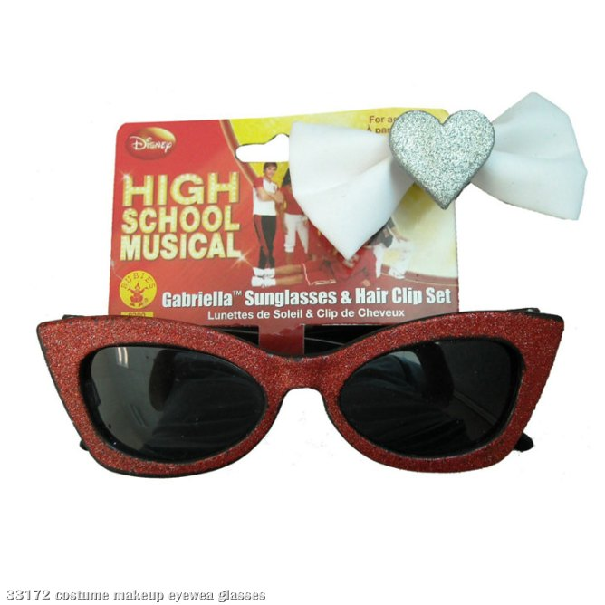 High School Musical 2 Gabriella Sunglasses and Hairpiece Set Chi