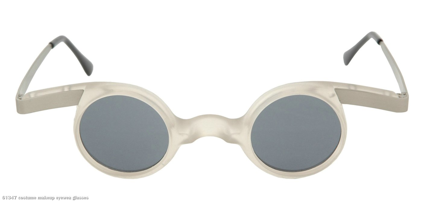 Mad Scientist Frosty White Adult Sunglasses