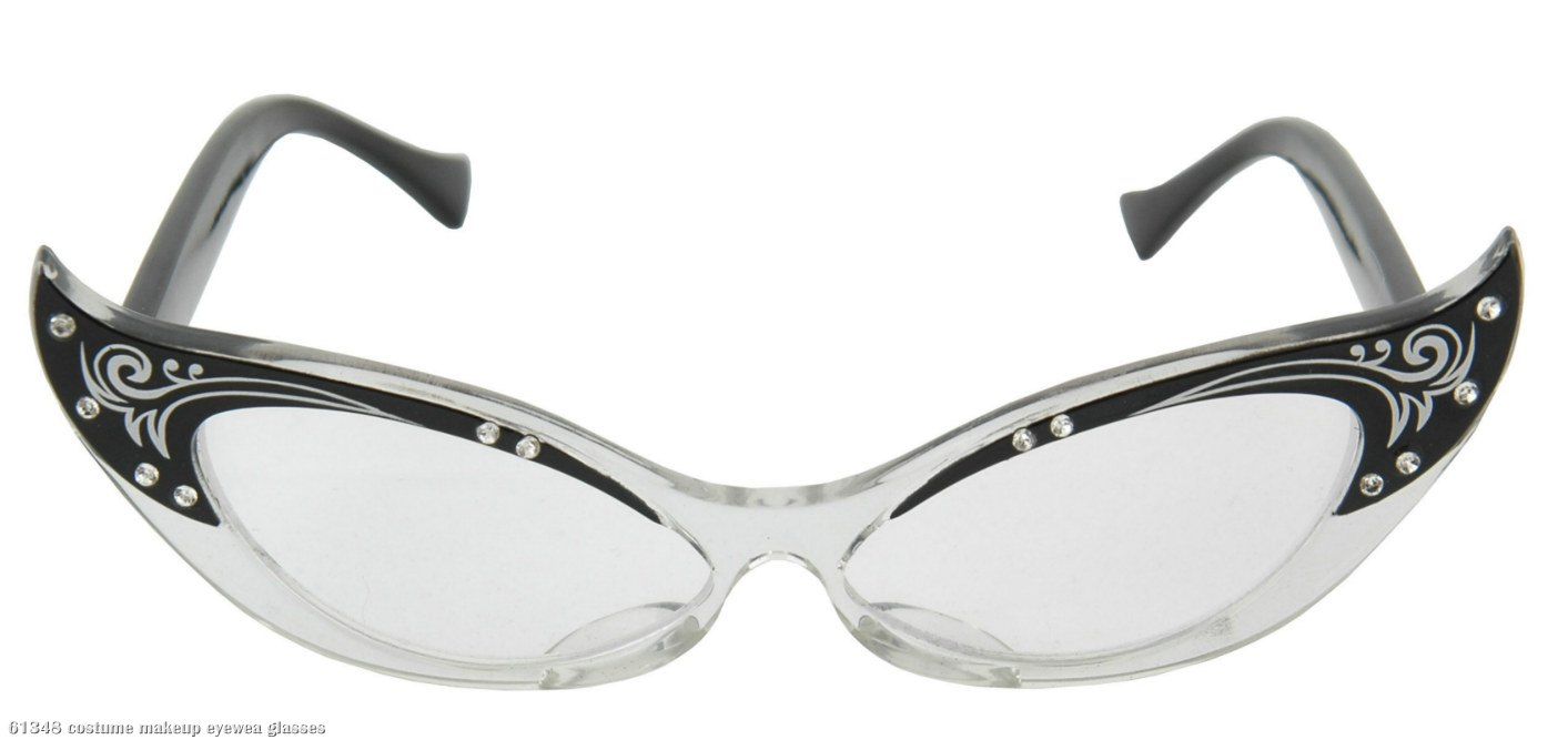 Vintage Cat Eye Adult Glasses