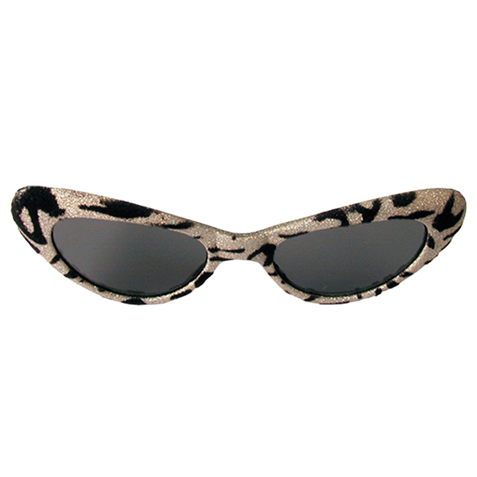 1950's Cat Eye Glasses - Gold & Black