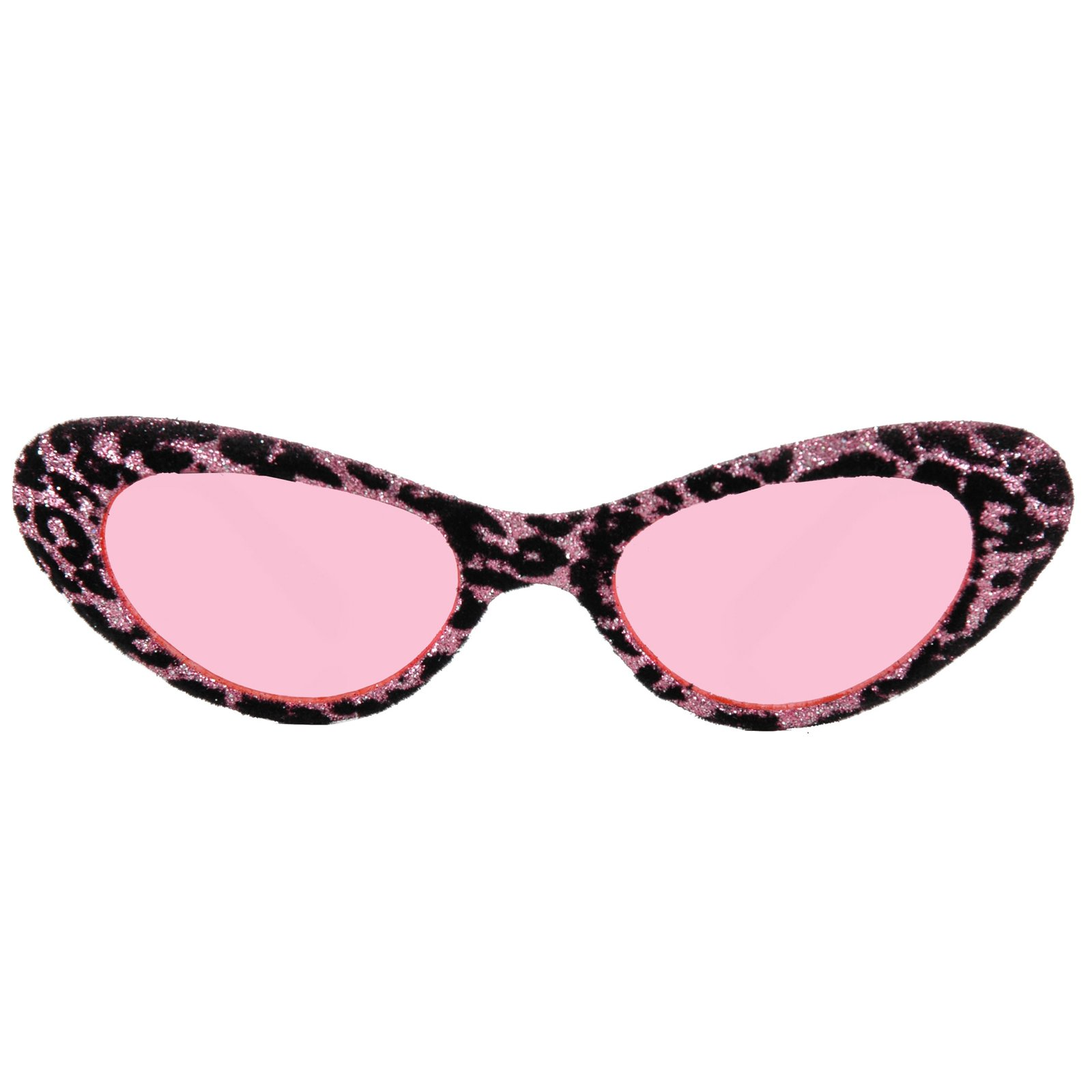 1950's Cat Eye Glasses - Pink & Black