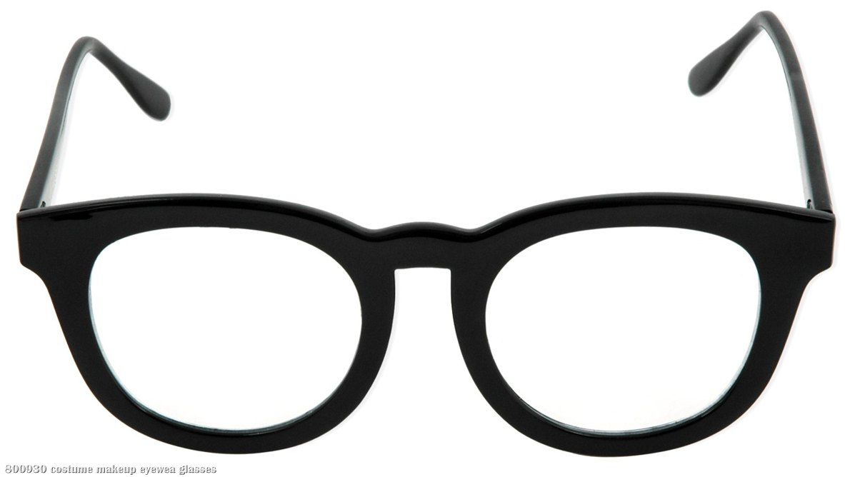 Black Glasses Adult