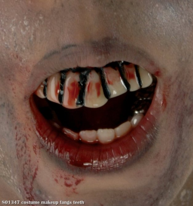 The Walking Dead Bloody Teeth (Adult)