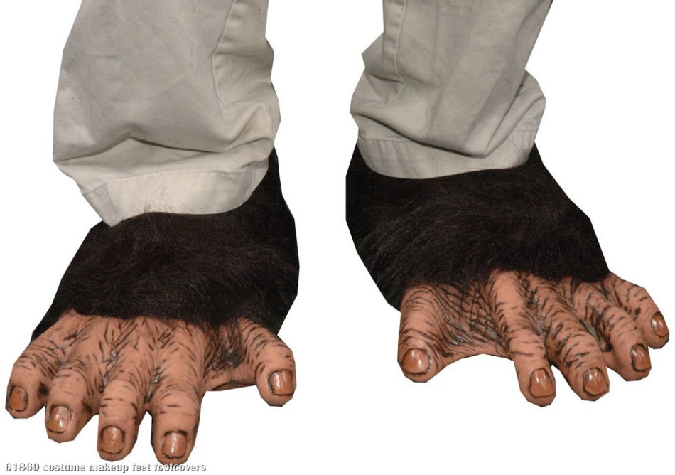 Adult Chimp Feet