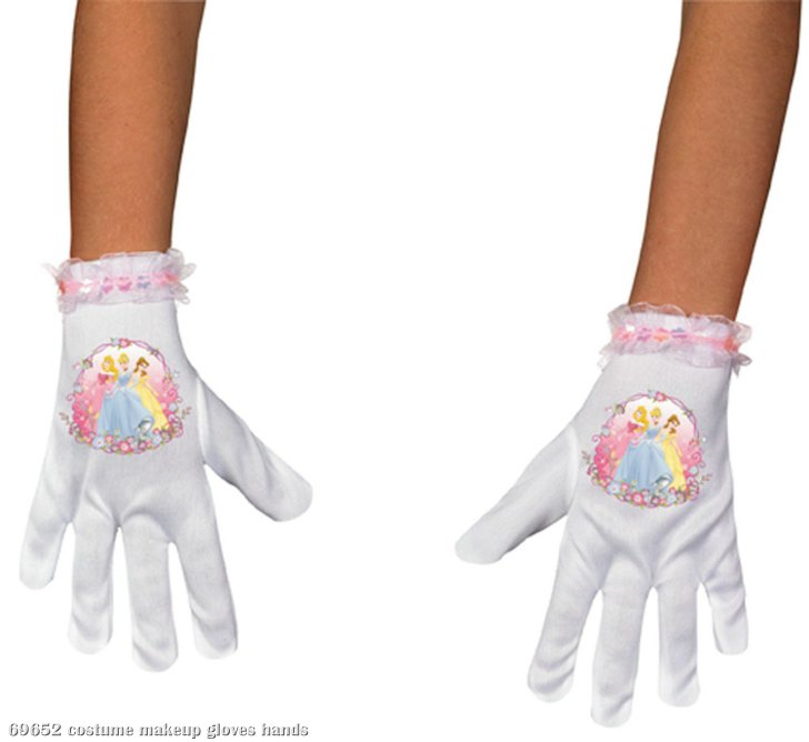 Disney Princess Short Gloves Child