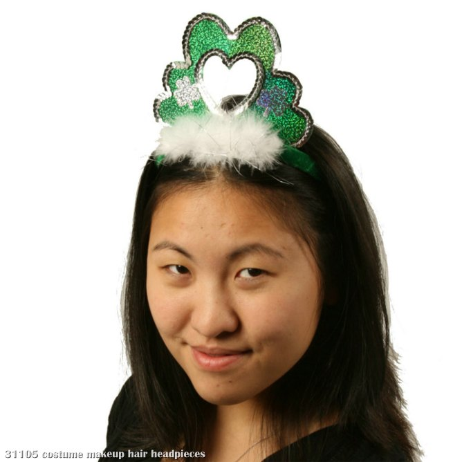 Shamrock Heart Headband