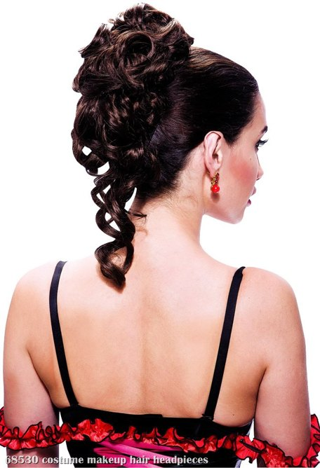 French Kiss Amelie Ponytail Brown Adult