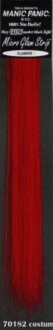 Glam Strips Hair Extension Flaming Red