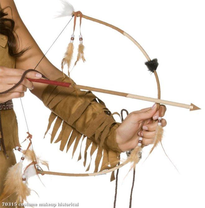 Indian Bow & Arrow Set