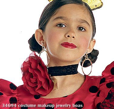 Flower Choker (Red) Child
