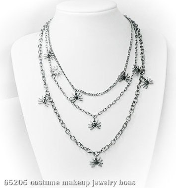 Multi-Tiered Spider Necklace