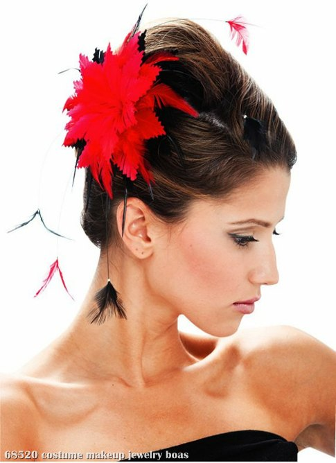 Black and Red Hair Clip