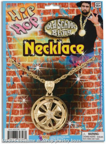 Hip Hop Spinning Necklace