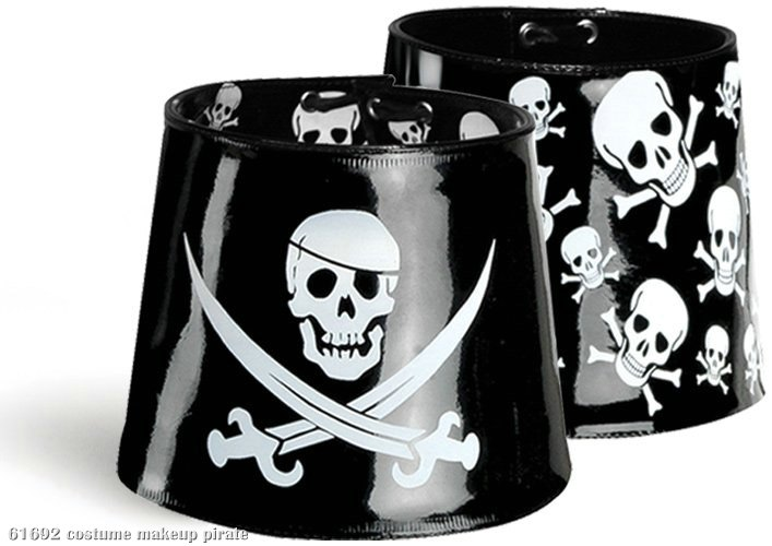 Pirate Reversible Boot Cuff