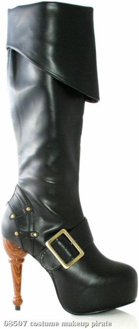 Jolly Roger Adult Boots