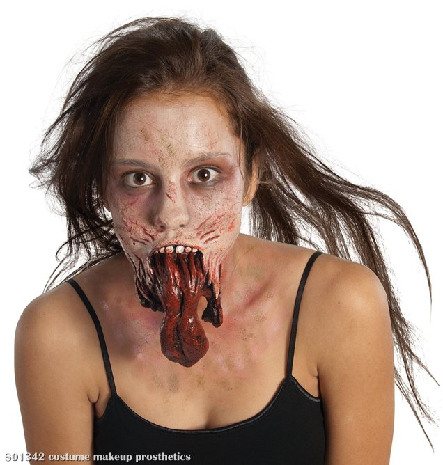 The Walking Dead - Split Jaw Latex Prostetics (Adult)