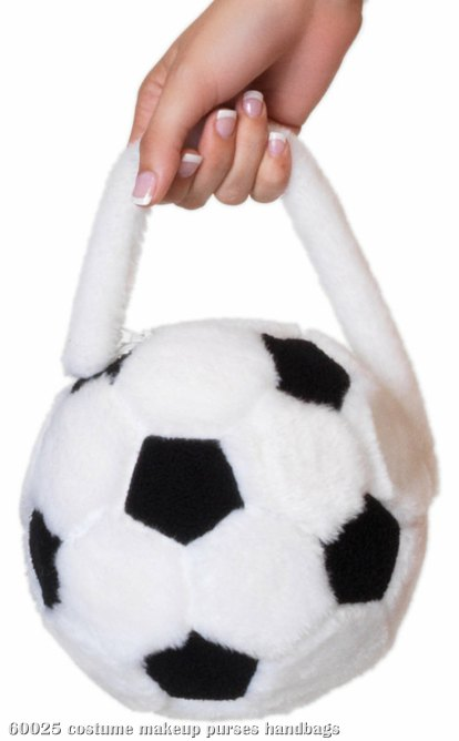 Plush Soccer Ball Purse