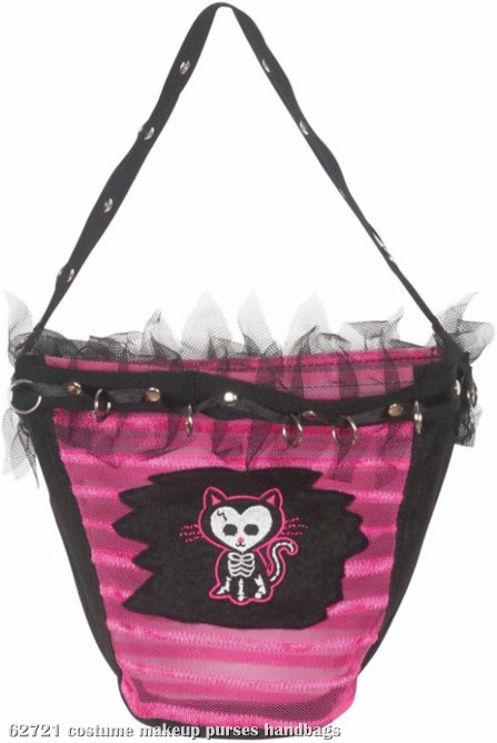 Pink Kitty Purse