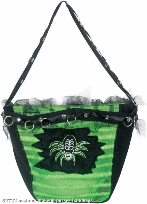 Green Spider Purse