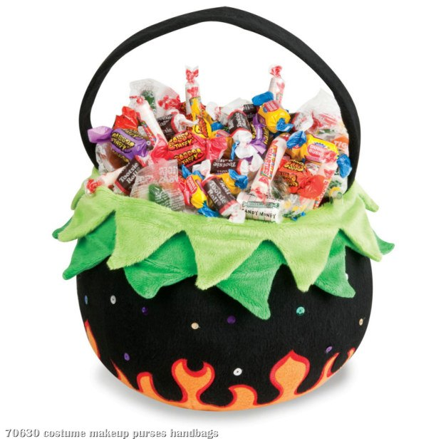 Cauldron Plush Basket