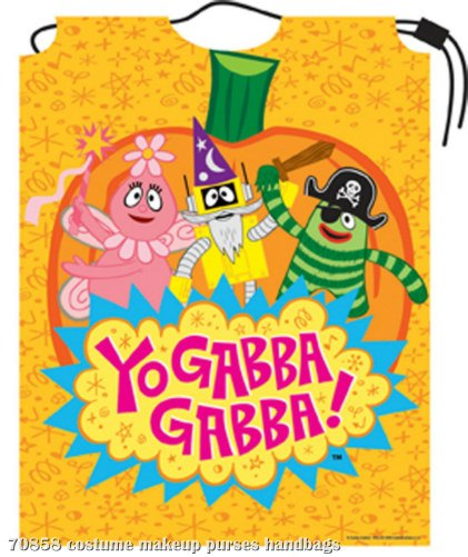 Yo Gabba Gabba Drawstring Bag Child