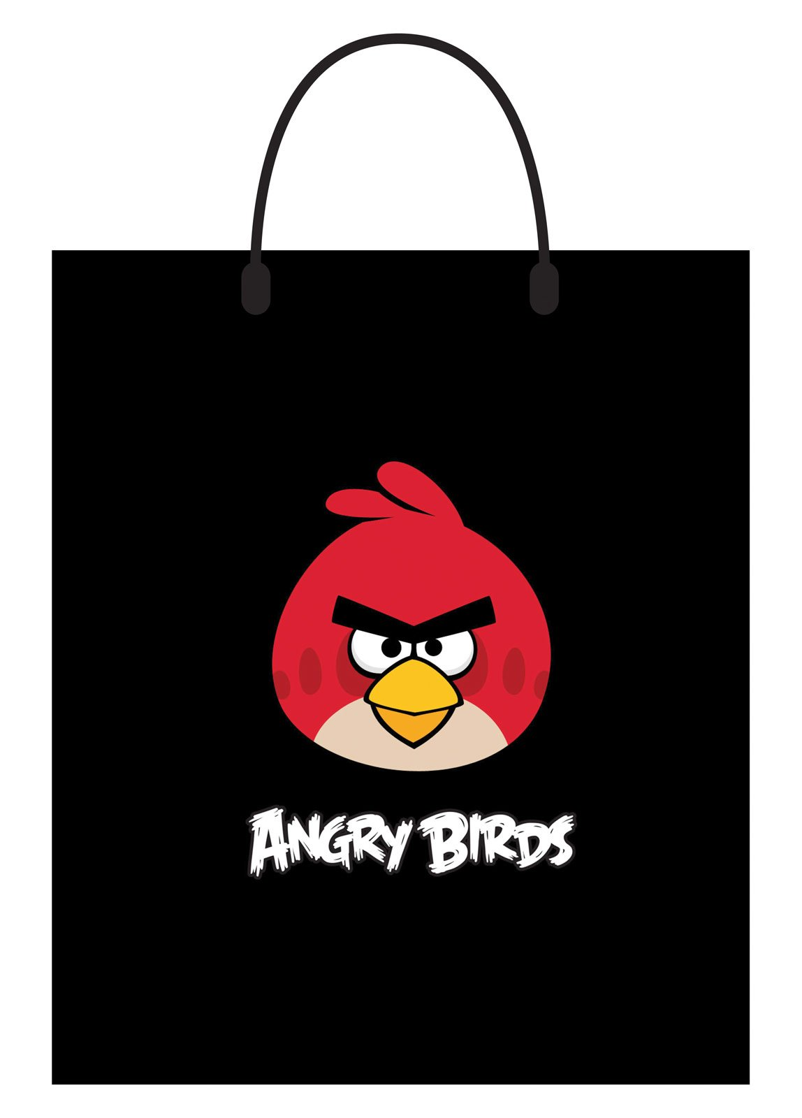 Angry Birds Red Bird Plastic Treat Bag