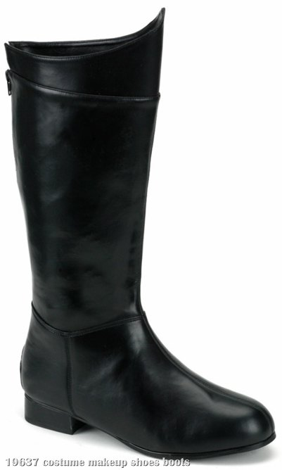 Super Hero (Black) Adult Boots