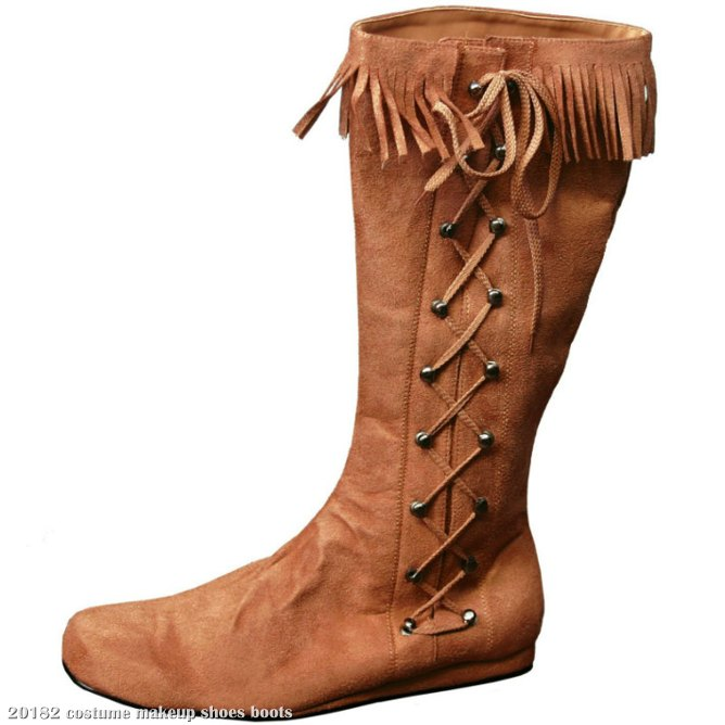 Indian Side Lace Adult Boot
